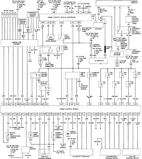2003 ford taurus starter wiring diagram wiring diagrams