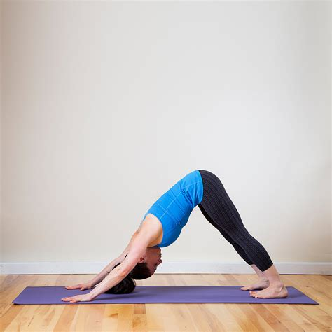 downward facing downward facing open up tight shoulders with a sequence popsugar