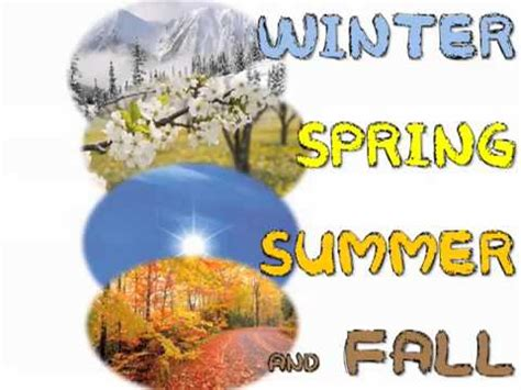 living the seasons of fall and winter books 4 seasons in a year winter summer and fall
