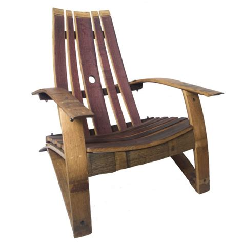 Wine Adirondack Chair by Wine Barrel Stave Classic Adirondack Chair Wine Country