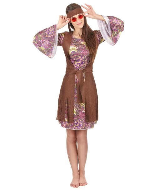 vestiti anni 70 figli dei fiori costume hippie figlia dei fiori per donna