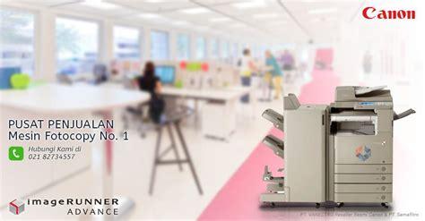 Mesin Fotocopy New jual mesin fotocopy canon garansi 1 tahun april 2018