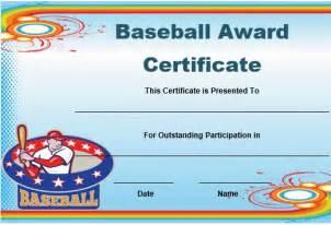 baseball award template 20 attention grabbing free printable baseball