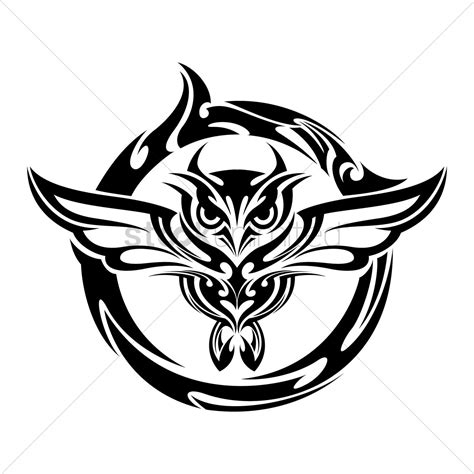 tribal owl tattoo tattoo collections