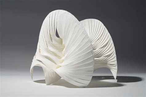 breathtaking paper figure sculptures  geometric origami