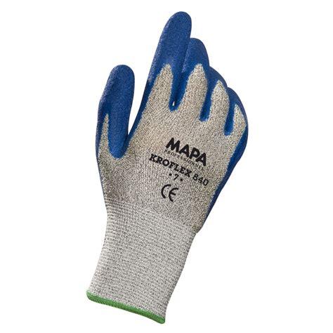 protection de gants de protection 224 la coupure kroflex 840 mapa maintenance and co