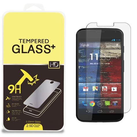 Screen Guard Adss High Quality tempered glass high quality screen protector guard for motorola moto x ebay