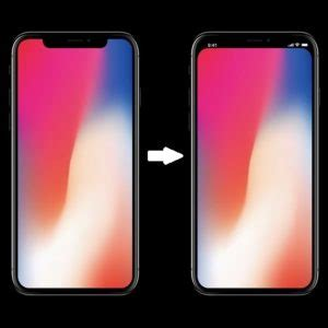 trick to remove the iphone x notch from home and lock screen iphonetricks org