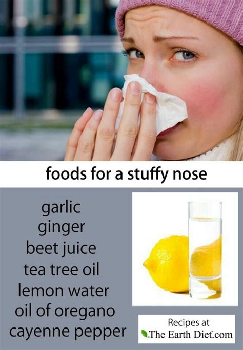 cure for stuffy nose healthy transformation