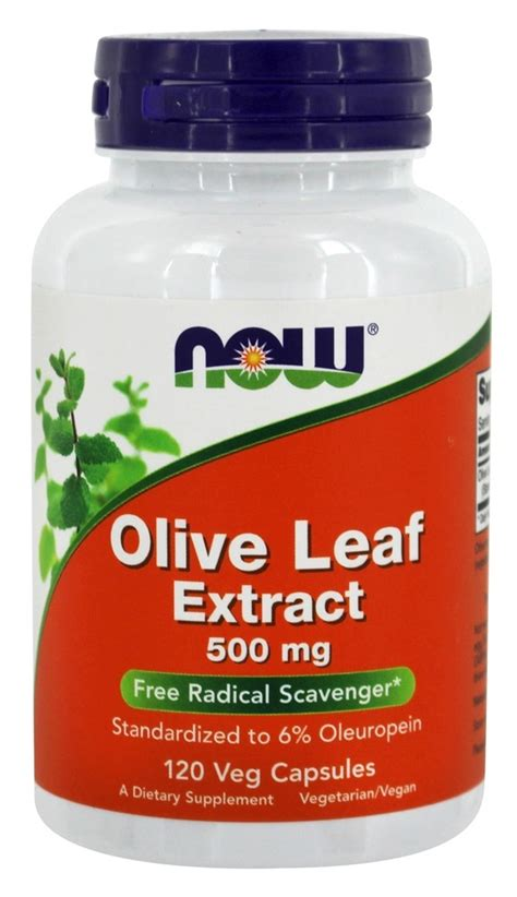 Olive Leaf Extract Detox by Buy Now Foods Olive Leaf Extract Vegetarian 500 Mg