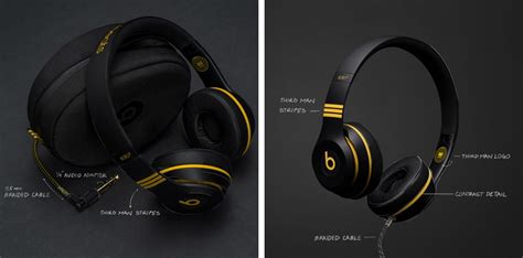 man records exclusive black  yellow beats solo