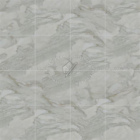 Calacatta white marble floor tile texture seamless 14863