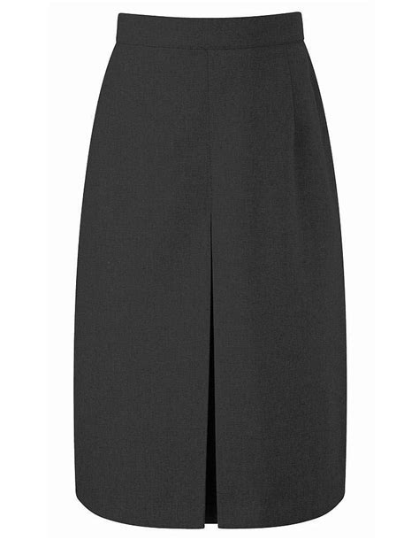 grey thornton front pleat school skirt 7452grey berlin