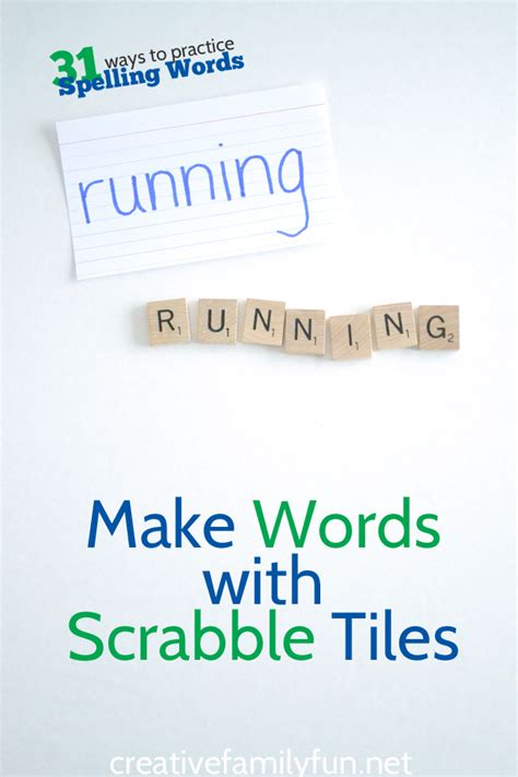 make words from scrabble letters make words with scrabble tiles creative family