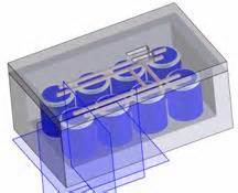 railgun capacitor bank proposed design
