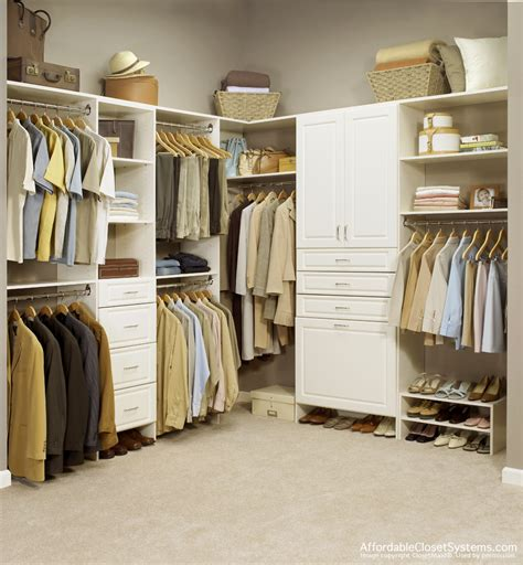 Walk In Closet System by Closet Solutions By Affordable Closet Systems Inc
