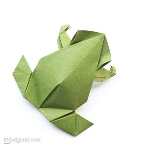 Origami Frog Tutorial - pre columbian frog origami so