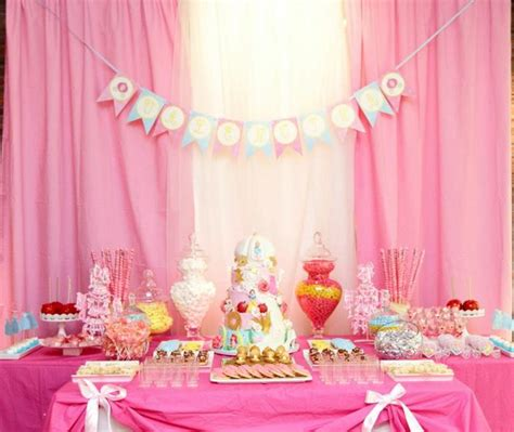 Disney Princess Baby Shower by Pink Fairytale Princess Baby Shower Ideas Themes