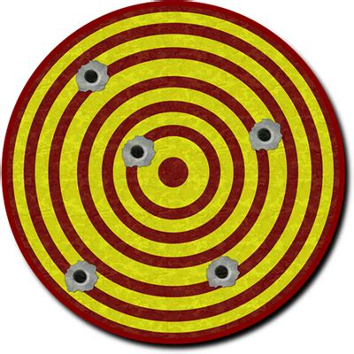 Clip On L Target by Clip Shooting Target Clipart Clipart Suggest