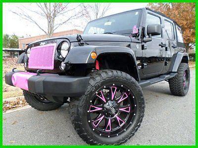 jeep lifted pink custom trucks picmia