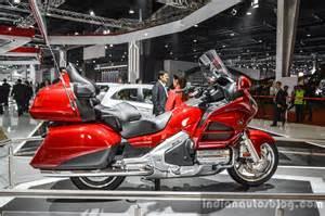 Honda Goldwing 2016 2016 Honda Goldwing At Auto Expo 2016 Indian Autos