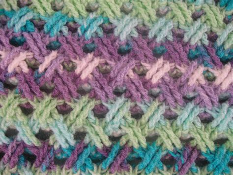meladoras creations interweave cable stitch free crochet pattern