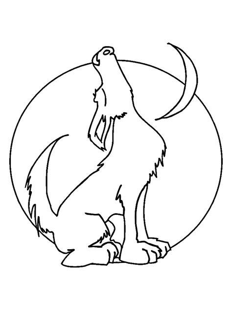 imagenes para colorear lobo imprimir gratis dibujos para colorear lobos