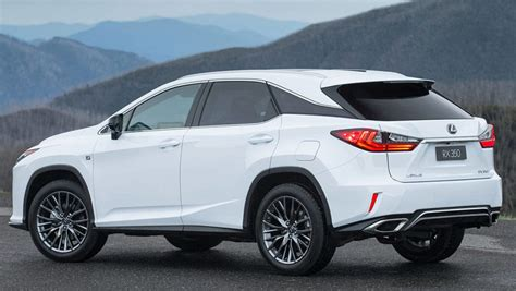 lexus rx 350 2016 lexus rx350 review road test carsguide