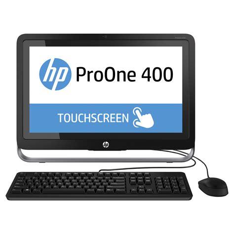 Hp Pc Proone 400 G1 Aio 215 Inch T I3 4160t 4gb 1tb Win hp proone 400 g1 21 5 quot pc de bureau hp sur ldlc
