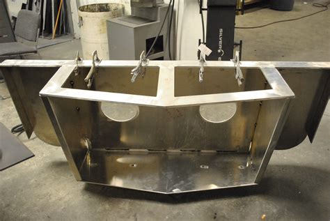 twin engine fishing boat for sale dusky twin engine bracket build page 3 the hull truth