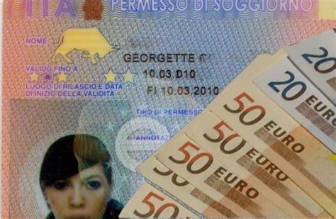 quanto costa il rinnovo permesso di soggiorno homepage shqiptari i italis 235