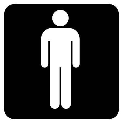 male female bathroom symbols bathroom male symbol clipart best