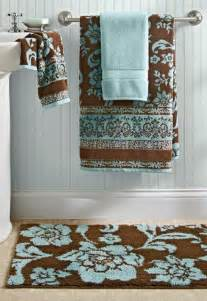 decorative bath towels and rugs bhg thick plush towels in aquifer costa brown are such