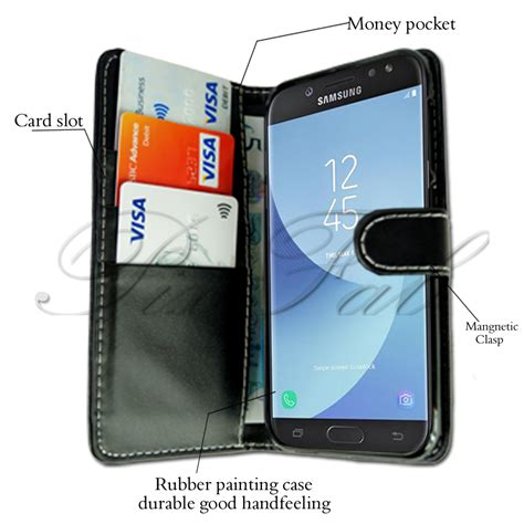 Galaxy A3 Wallet Channel new leather wallet phone for samsung galaxy s8 note 8