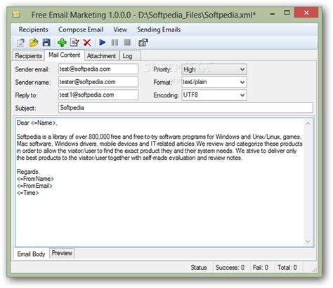 free email marketing download