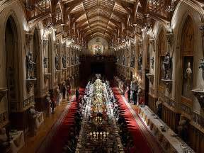 Dining Room Table Decoration by Windsor Castle Banquet For Indian State Visit Gordon
