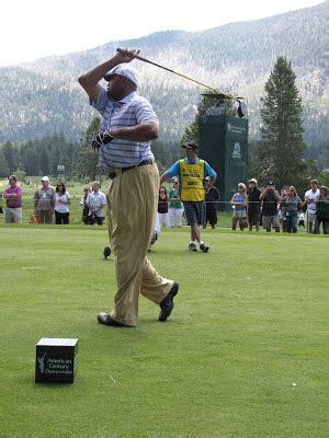 barkley golf swing american century chionship tahoe golf week