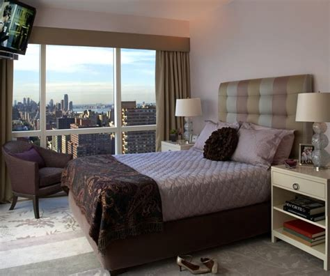 upper west side bedroom modern bedroom  york  evelyn benatar  york interior design