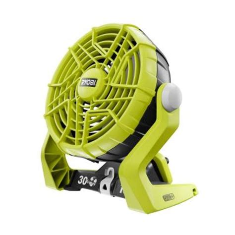 Battery Fan Home Depot ryobi one 18 volt portable fan tool only p3310 the