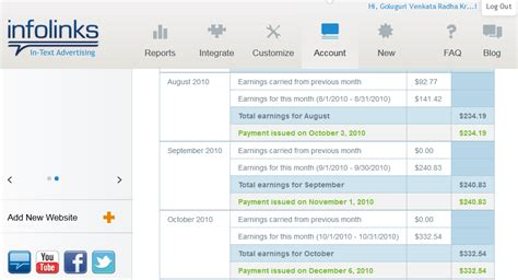adsense cpm rates infolinks vs adsense cpm rates payments and earnings