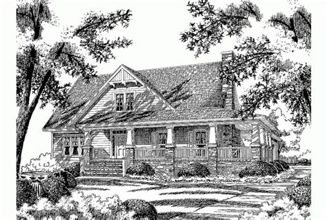 eplans southern living eplans bungalow house plan stonebridge cottage from the