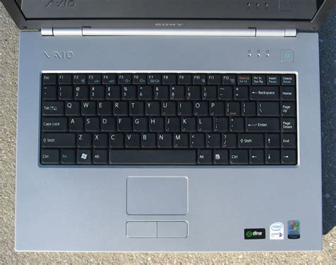 Keyboard Laptop Vaio sony vaio n laptop review notebookreview