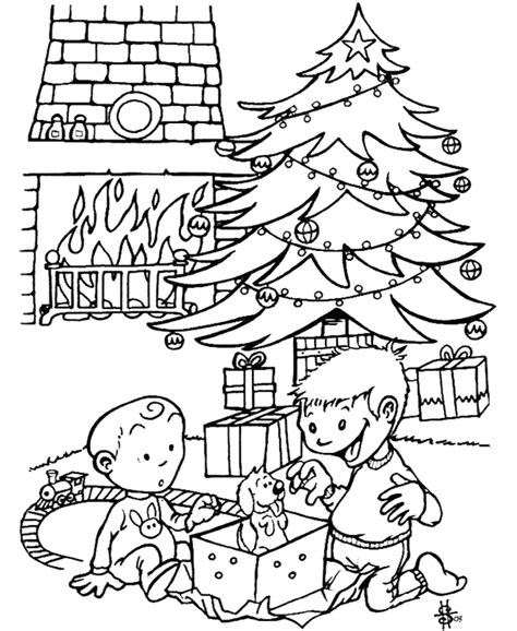 cuentos de navidad para colorear pintar im genes kleurplaat kerst kleurplaat 1955 kleurplaten