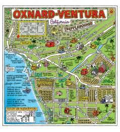 ventura california map oxnard ventura lived in oxnard