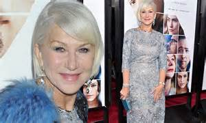 Did You Helen Mirren Carried Around 250000 At The Oscars by Helen Mirren Dazzles In Shimmering Dress At Premiere Of