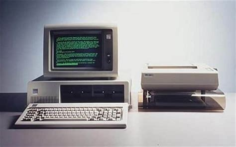 Desk Top Computers On Sale by The Ibm Pc Was Released 35 Years Ago Today How It