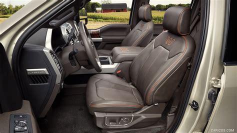 ford   super duty king ranch crew cab interior