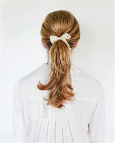 can u wear use hair up with a long non layered bob 12 grown up ways to wear a bow in your hair brit co