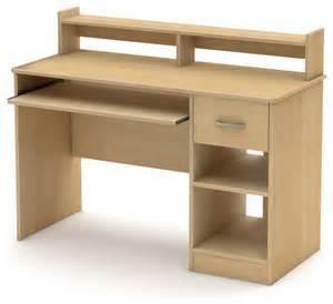 All Wood Computer Desk Shop Houzz Fastfurnishings Home Office Computer Desk Maple Wood Finish Desks