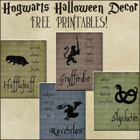harry potter house decor decor harry potter house posters